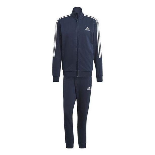 Adidas Herren 3Streifen Trainingsanzug für 46,8€