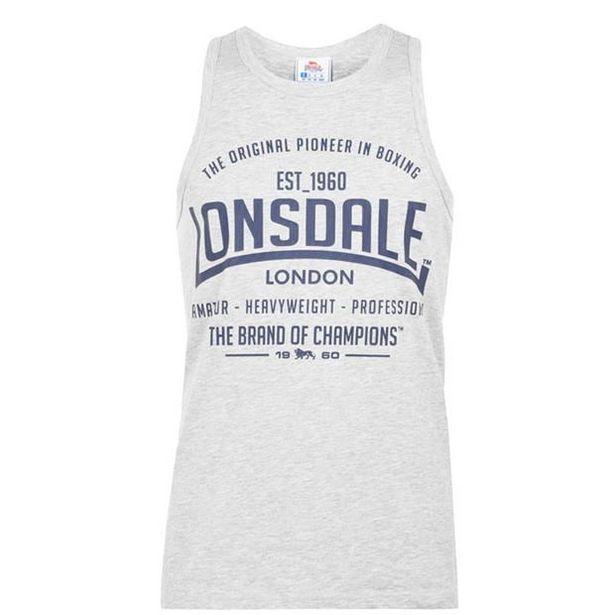 Lonsdale Boxing Vest Top Mens für 4,79€