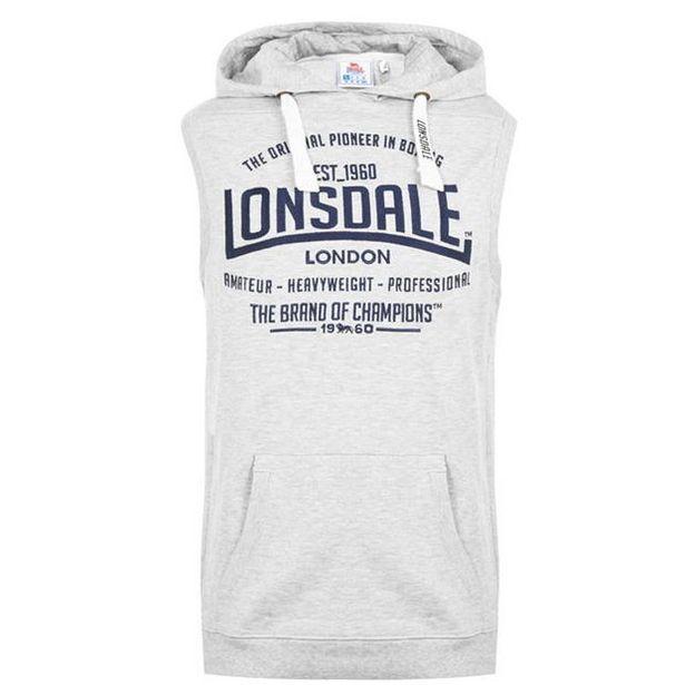 Lonsdale Box Sleeveless Hoodie Mens für 11,99€