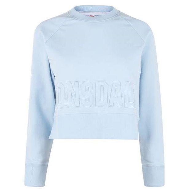 Lonsdale Damen Sweater kurz für 7,8€
