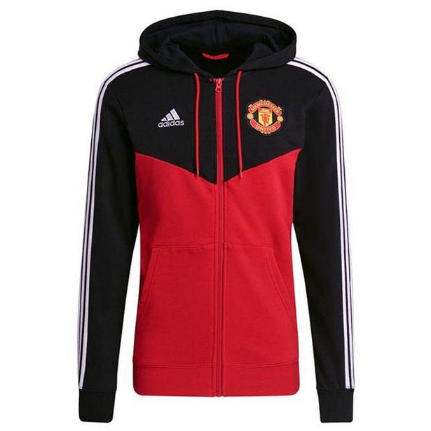 Adidas adidas Manchester United Hoodie 2021 2022 Mens für 57,59€