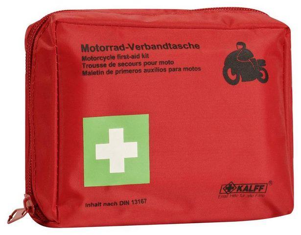 Kfz-Verbandtasche Kalff Motorrad für 5€