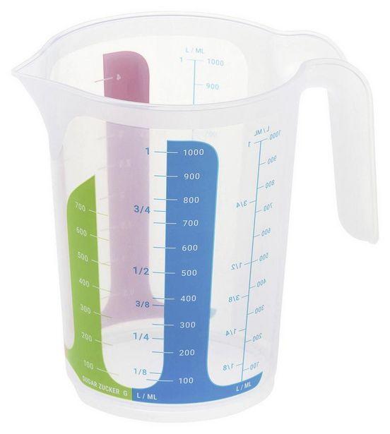 Messbecher Fia Inhalt Max. 1 Liter für 1,89€
