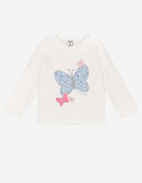 Baby Langarmshirt - Glitzer-Print für 2,99€