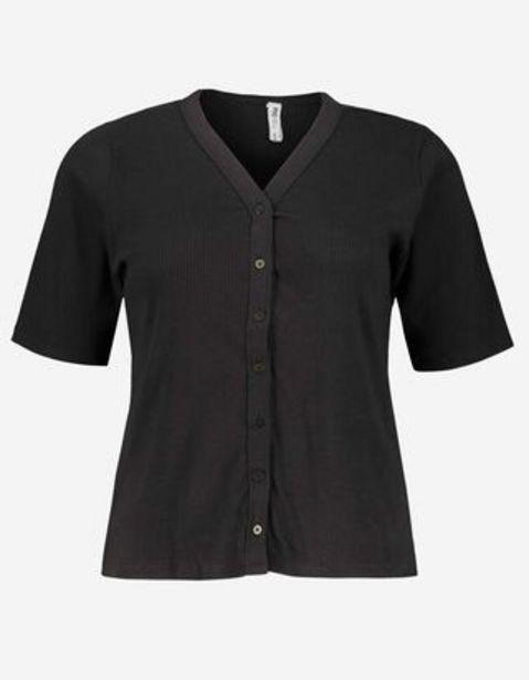 Damen Shirt - Knopfverschluss für 12,99€