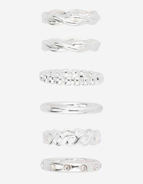 Damen Ring - 6er-Pack für 7,99€