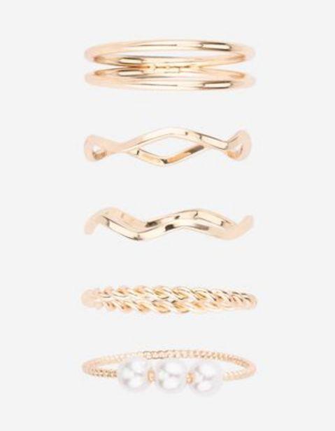 Damen Ring - 5er-Pack für 5,99€
