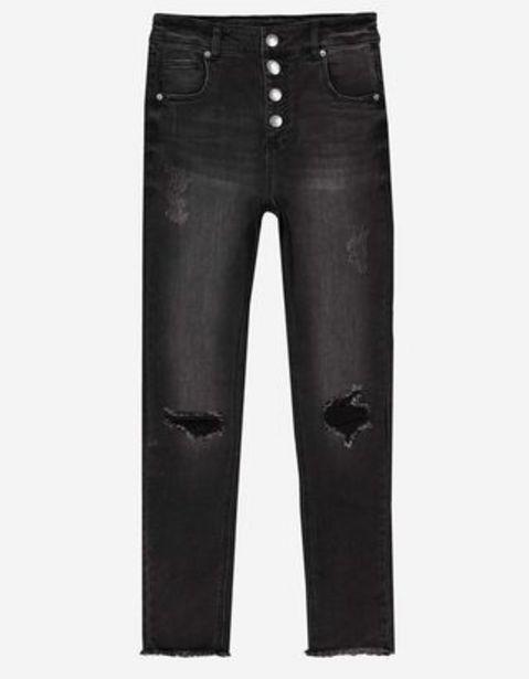 Mädchen Jeans - Ausgefranste Abschlüsse für 19,99€