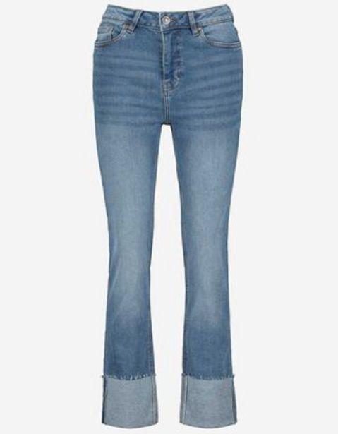 Damen Jeans - Fixierter Beinumschlag für 29,99€