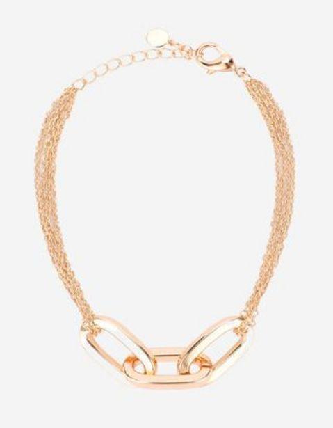 Damen Armband - Metallic-Details für 2,99€