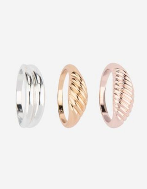 Damen Ring - 3er-Pack für 5,99€