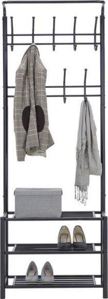 Garderobenständer in Schwarz für 49,9€
