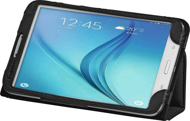 """Hama Portfolio """"Bend"""" für Galaxy Tab A 7.0 BookCase  Samsung Galaxy Tab A, Samsung Galaxy Tab A 7.0   Schwarz Tablet Tasche, modellspezifisch für 21,99€"""