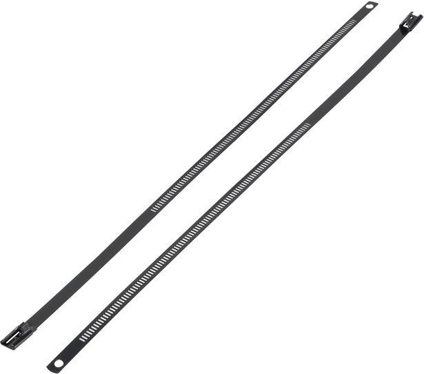 KSS ASTN-450 ASTN-450 Kabelbinder 450 mm 7 mm Schwarz mit Beschichtung 1 St. für 2,09€