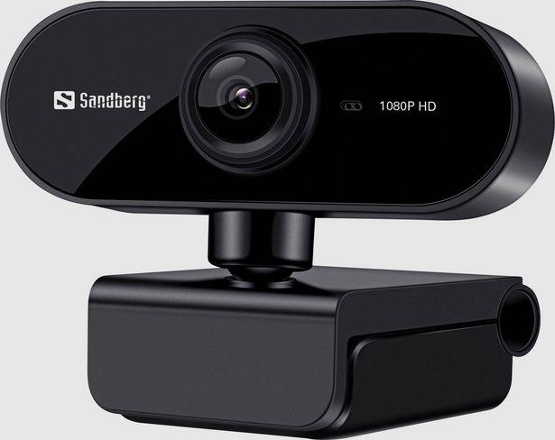 Sandberg Flex Full HD-Webcam 1920 x 1080 Pixel für 47,99€