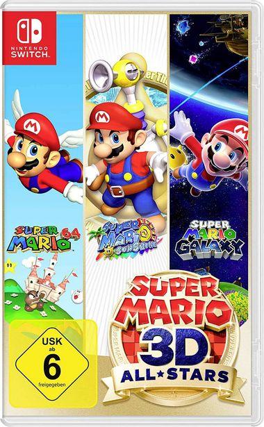 Super Mario 3D All-Stars Nintendo Switch USK: 6 für 54,99€