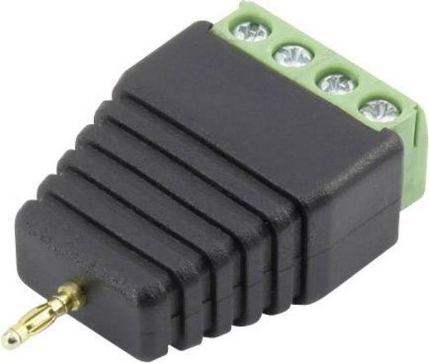 Conrad Components 93013c1121 Laborstecker Stecker, gerade Stift-Ø: 2 mm Schwarz 1 St. für 5,49€