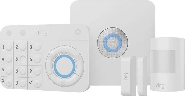 Ring 4K11D9-0EU0 Alarm - 5 Piece Kit Funk-Alarmanlagen-Set für 199,99€