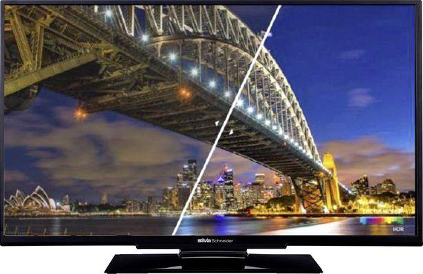 Silva Schneider LED S 55.83T2CS LED-TV 140 cm 55 Zoll EEK A+ (A++ - E)  Schwarz für 529€