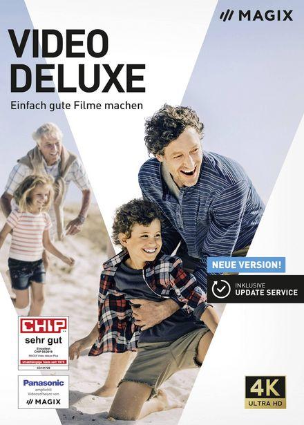 Magix Video deluxe Vollversion, 1 Lizenz Windows Videobearbeitung für 64,99€