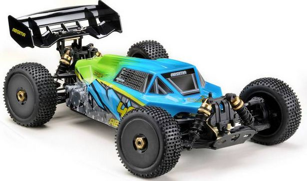 Absima STOKE Gen2.0 Blau Brushless 1:8 RC Modellauto Elektro Buggy Allradantrieb (4WD) RtR 2,4 GHz für 329€