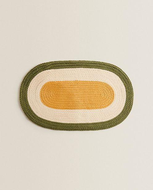 Ovaler Flechtteppich Für Haustiere für 19,99€