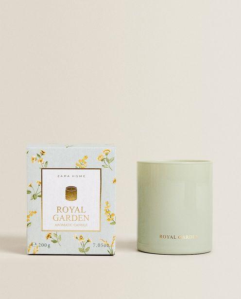 (200 G) Duftkerze Royal Garden für 15,99€