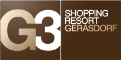 Logo G3 Shopping Resort Gerasdorf